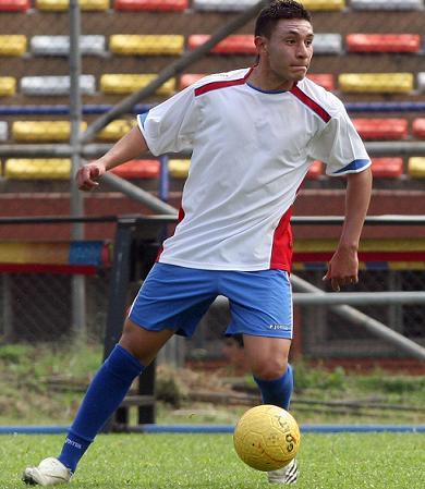 Él era el defensor zurdo Juan Fernando Gómez Rúa, de 20 años.