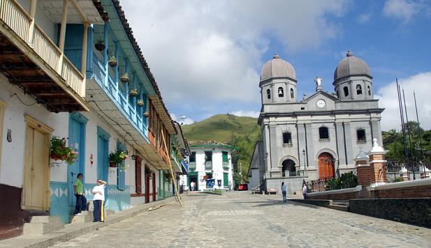 El parque de Concepción, el municipio que comandaba el detenido.
