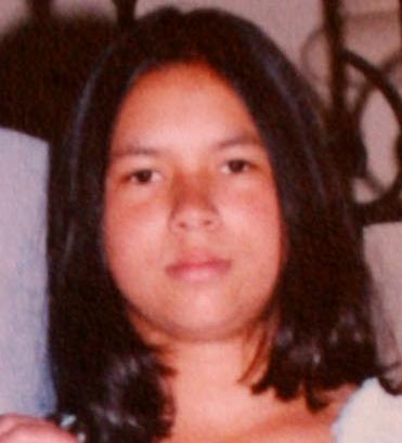 Yeny en la adolescencia, una de las pocos fotos que quedaron de ella.