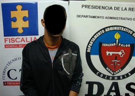 Este es el mayor de edad capturado por la extorsión, quien está en la cárcel Bellavista, de Bello.