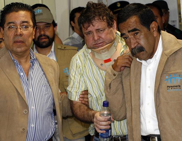 Así se entregó 'El Cebollero' a las autoridades en 2009, agobiado por problemas de salud.