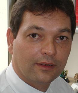 El juez asesinado Diego Fernando Escobar, de 45 años.