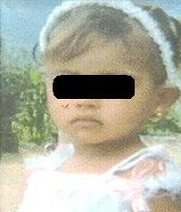 Taliana, hallada en un río de La Pintada, solo alcanzó a vivir dos años.