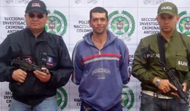 El campesino William Gómez Hernández, confeso asesino de cinco mujeres en Yarumal.