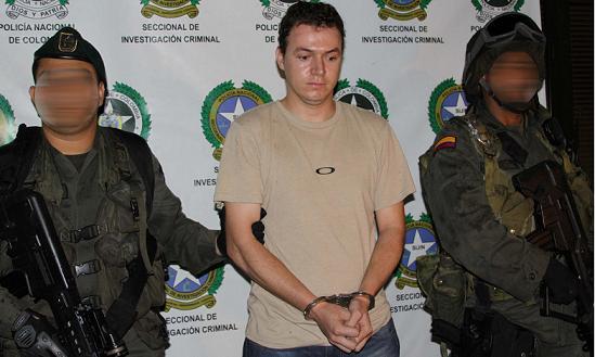 Así presentó la Policía a 'La Cachona', después de traerlo a Medellín desde Santa Marta.