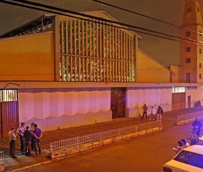 Este es el templo en el cual los sicarios entraron a matar. Foto de Esteban Vanegas.