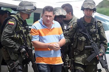 John Fredy 'El Gordo' Triana fue capturado en 2008 en la ciudad de Bucaramanga.