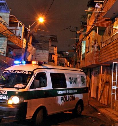 En esta cuadra de Guayabal sucedió la matanza. Foto de Carlos Taborda.