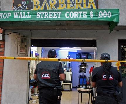 Este es el establecimiento en el cual asesinaron al joven. Foto de Carlos Taborda.