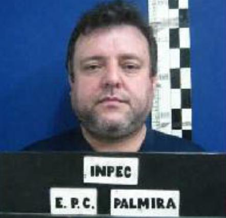 'El Cebollero' ha pasado por las cárceles de máxima seguridad de Palmira e Itagüí. Cortesía del Inpec.
