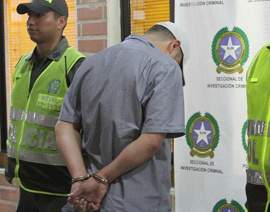 'Chito' al parecer ya estaba trabajando para 'Los Urabeños'. Foto cortesía de la Policía.