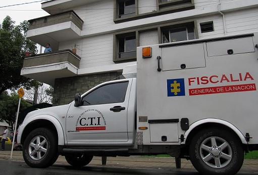 En este apartamento de Florida Nueva se cometió el crimen. Foto de Mauricio Palacio.
