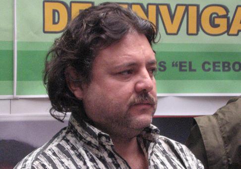 Alirio Rendón, alias 'El Cebollero', de 48 años.