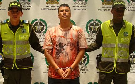 Por información que ayudara en la captura de 'Sólido', había una recompensa de hasta 10 millones de pesos. Cortesía de la Policía.
