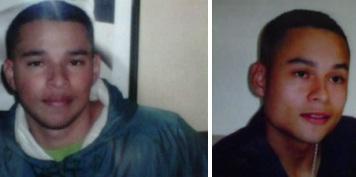 Santiago (izquierda) y Andrés Giraldo Tabares. Fotos de cortesía.