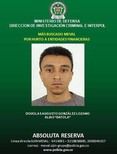 Si alguien tiene información sobre su paradero, puede llamar en Medellín al 441 40 91 o 321 883 8885. Cortesía Policía.