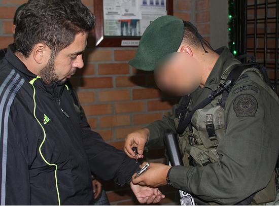 Este es alias 'Bolillo', quien estuvo un año y cinco meses en la cárcel. Foto cortesía Policía.