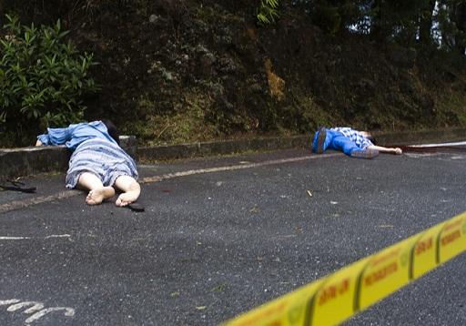 Aún se desconocen los motivos del crimen, así como la relación entre las dos víctimas. Foto de Esteban Vanegas.