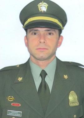 Subintendente Franklin Moreno.