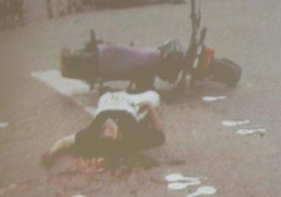 Así murió uno de los 12 funcionarios del CTI asesinados por 'La Terraza', entre 1997 y 1999.
