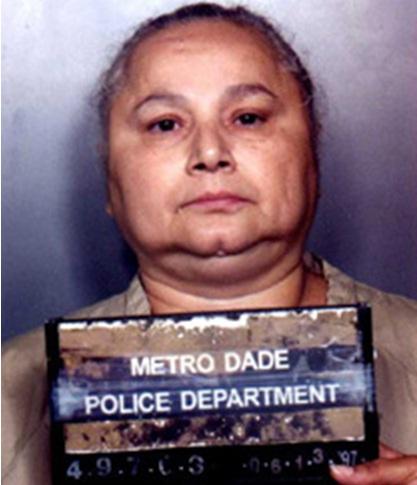 A 'La reina de la cocaína' le decían también 'La Patata' por la forma de su cara. Foto tomada de krazykillers.wordpress