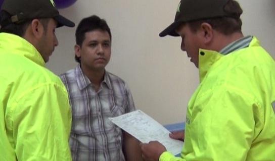 Este es alias 'El Loco' o 'Nacho', al momento de la reseña judicial. Foto cortesía de la Policía Metropolitana de Cartagena.