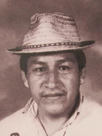 Ismael Hurtado, el líder indígena asesinado.