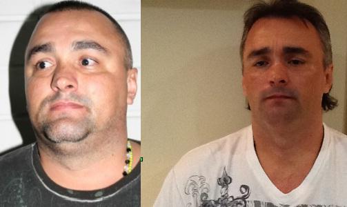"""A la izquierda, foto de """"Pichi"""" cuando fue reseñado con """"Douglas"""" en 2009. Al lado, imagen de la captura en Panamá. Fotos de cortesía."""