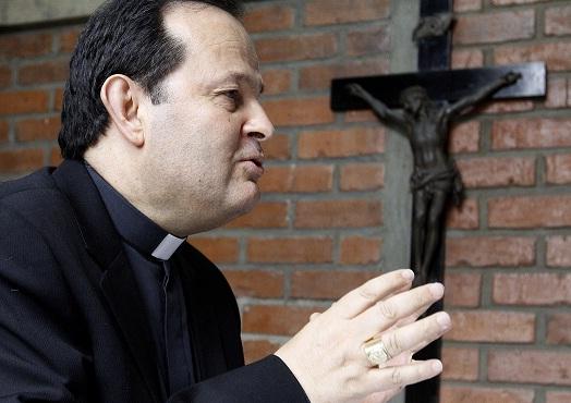 Monseñor Ricardo Tobón cuestionó el manejo de la seguridad en Medellín. Foto de Donaldo Zuluaga.
