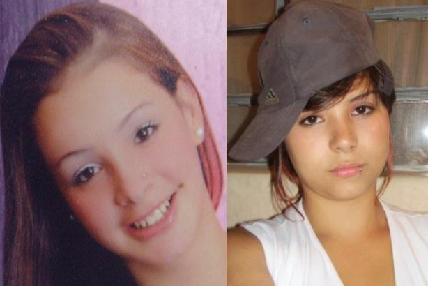 A la derecha está María Katherine, quien era madre de una niña; a su lado, Cindy Lorena. Fotos de cortesía publicadas con autorización de las familias.