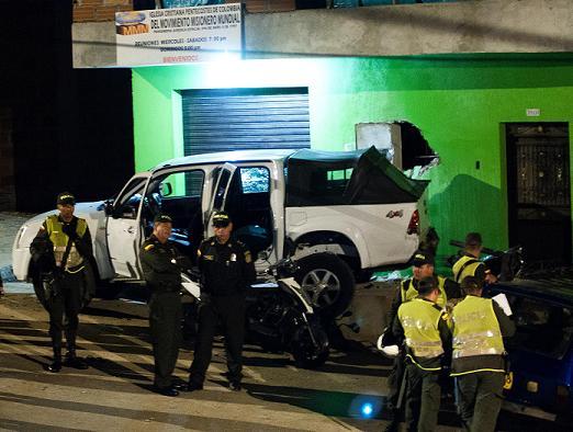 Las víctimas de la camioneta al parecer estaban desarmadas. Cortesía.