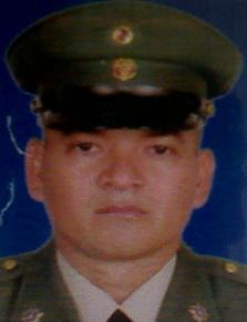 Sargento viceprimero Nuil Martínez. Cortesía.