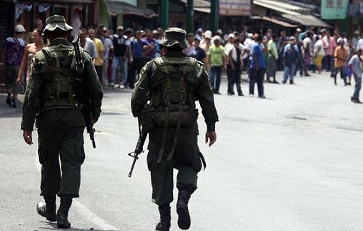 La denuncia de la masacre fue formulada en Tarazá por un familiar de las víctimas. Foto de Archivo El Colombiano.