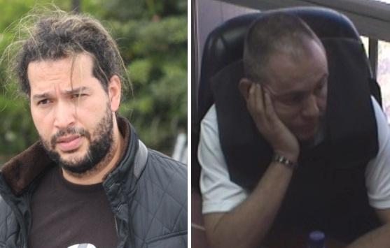"""Ericson Vargas Cardona (izquierda) y José Leonardo Muñoz Martínez, cabecillas de la banda criminal """"la Oficina"""". Archivo."""