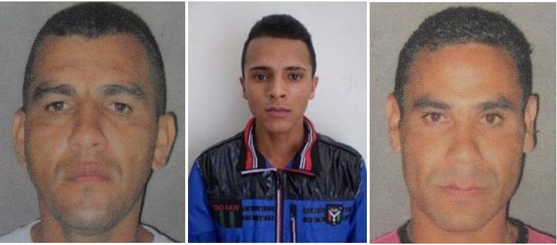 """Varios miembros del clan Suaza han sido arrestados, señalados de comandar a """"los Chivos"""". De izquierda a derecha: """"Hugo"""", """"Chatán"""" y """"Mellizo"""". Cortesía."""