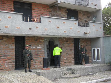 """Esta es una de las viviendas ocupadas a """"Mario Chiquito"""". Cortesía Dirección Antinarcóticos."""