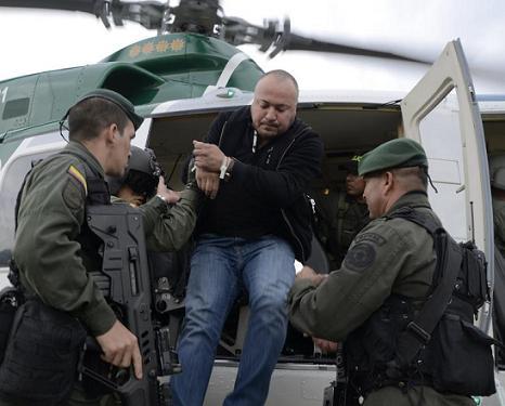 """""""Carlos Pesebre"""" será recluido en la cárcel de Valledupar, Cesar. Cortesía Policía Metropolitana."""
