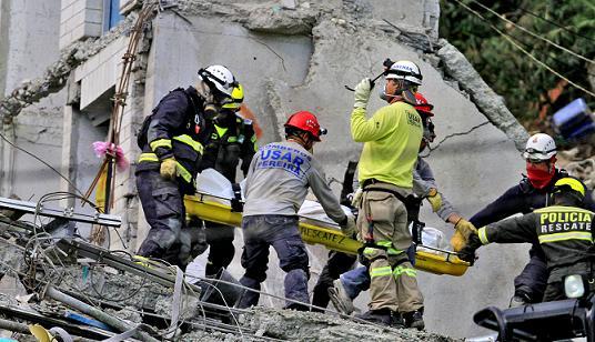 Las víctimas fueron un inquilino de Space, un celador y 9 trabajadores (entre ingenieros, soldadores y obreros). Foto de Juan Antonio Sánchez.