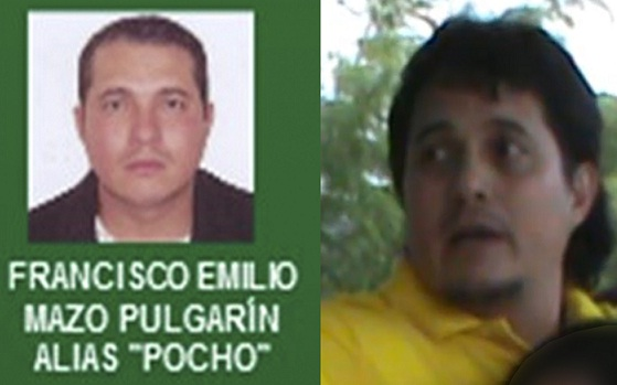 """A la izquierda, la foto de """"Pocho"""" en el cartel de los más buscados; al lado, su imagen actual. Cortesía Policía Metropolitana."""