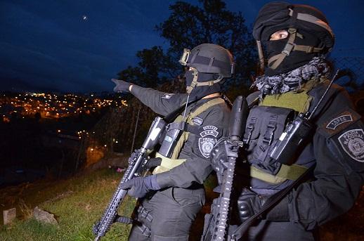 El Comando de Operaciones Especiales (Copes) fue la punta de lanza en la Operación Objetivo 7. Cortesía Policía Metropolitana.
