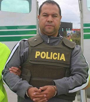 """El abogado Luis Zapata, apodado """"el Hijo"""". Cortesía Policía."""