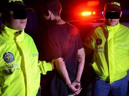 """La Sijín adelantó la investigación que derivó en la captura de """"Pipe Rata"""", por homicidio y porte ilegal de armas. Cortesía Policía Metropolitana."""
