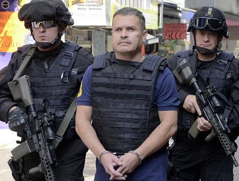"""Carlos Correa, alias """"don Pepe"""", fue detenido en una urbanización de Sabaneta. Cortesía Policía Metropolitana."""