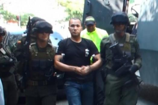 """Carlos Rincón Correa, alias """"don Daniel"""", """"Pablo"""" o """"Pastuso"""". Cortesía Policía."""