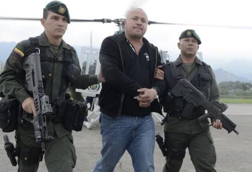 """Agentes del CTI viajaron de Medellín a Valledupar, para notificarle la nueva orden de captura a """"Carlos Pesebre"""". Archivo."""