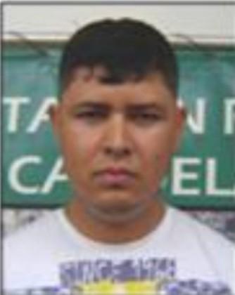 """Alias """"Diadema"""" o """"Camilo"""", presunto cabecilla de la """"Odín Picacho"""". Foto cortesía Policía,"""