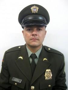 El patrullero Rubén Darío Soto trabajaba en la Sipol. Cortesía.
