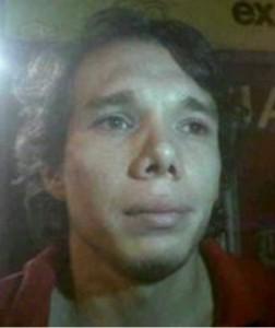 "Juan Pablo Taborda, alias ""Yordi"". Cortesía."