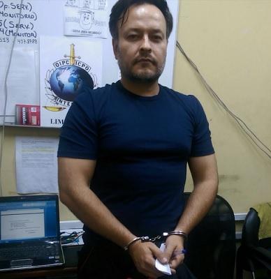 """""""Duncan"""" se coordinó entre las policías de Colombia y Perú, a través de Interpol. Cortesía Policía."""