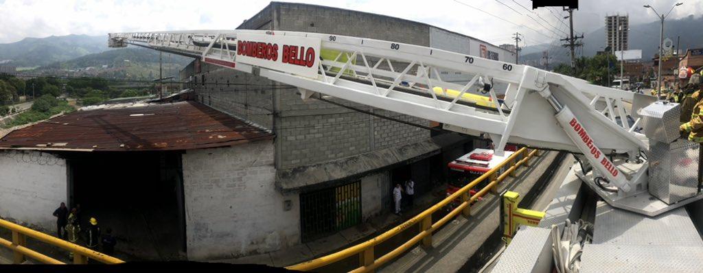 Incendio dejó cuatro lesionados en Bello - El Colombiano